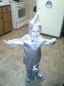 My little Dominik was the tinman